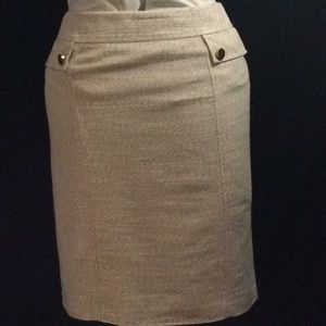 Antonio Melani, cream color pencil skirt # 6